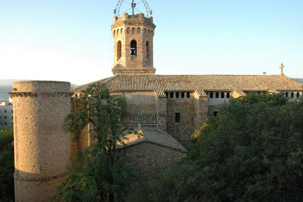 basilica de la mare de deu de valldeflors tremp