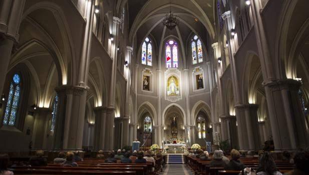 basilica parroquia de la virgen milagrosa padres paules madrid