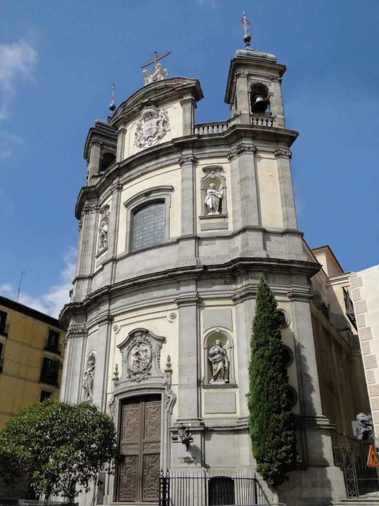 basilica pontificia de san miguel madrid