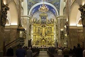 capilla de la inmaculada concepcion o de la congregacion centro diocesano de espiritualidad valladolid