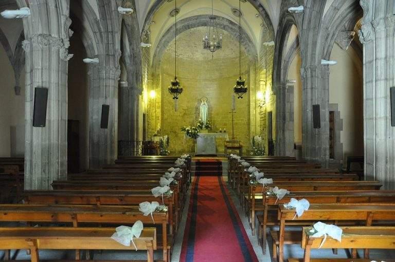 capilla de la mare de deu de lurdes gombren