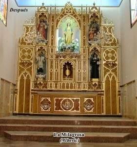 capilla de la milagrosa alberic