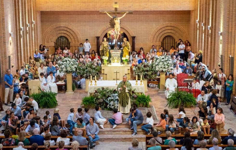 capilla de la obra social santa maria josefa siervas de jesus de la caridad madrid