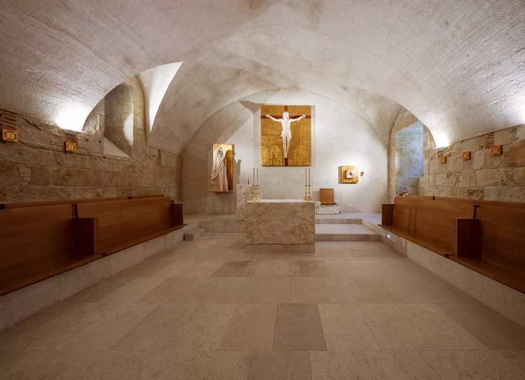 capilla de la sede central de la universidad pontificia salamanca