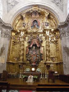 capilla de la virgen del sagrario alalpardo