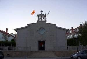 capilla de la virgen peregrina bertamirans ames 1