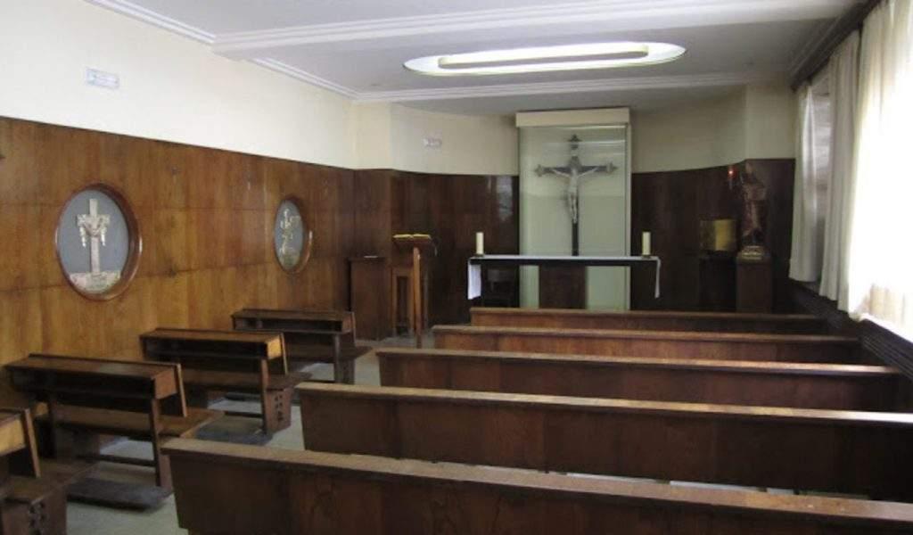 capilla de las facultades de filologia y filosofia universidad complutense de madrid madrid