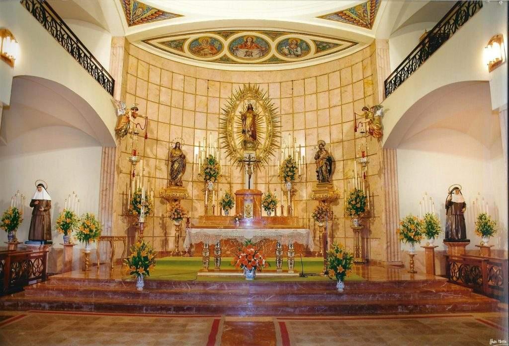capilla de las hermanas de la cruz villacarrillo