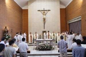 capilla de las misioneras de cristo sacerdote las rozas de madrid 1