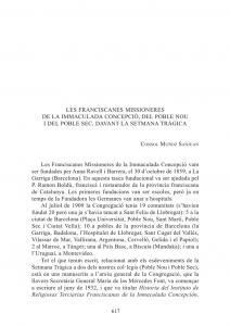 Capilla de les Franciscanes Missioneres de la Immaculada Concepció (La Garriga)