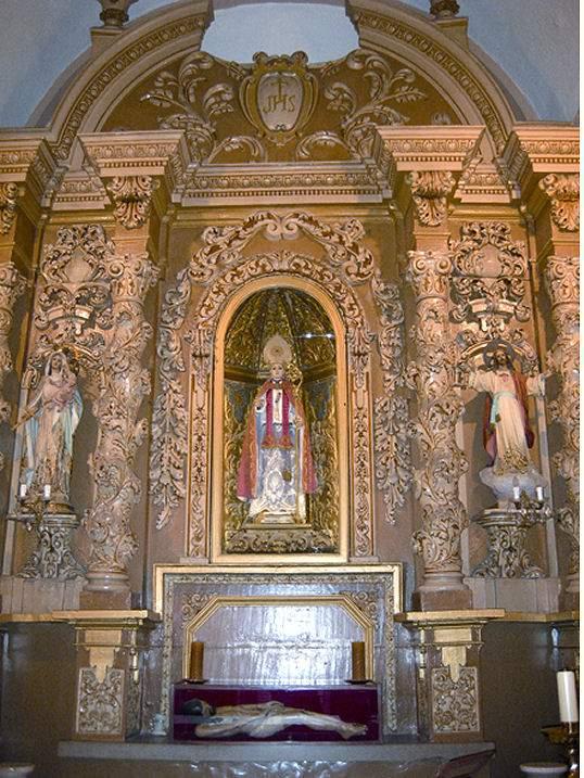 capilla de los santos de la piedra y san sebastian nules