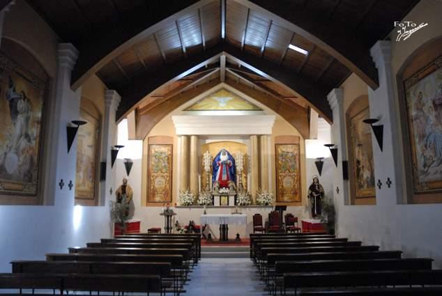 capilla de maria inmaculada mairena del alcor