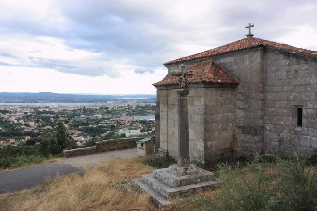 capilla de nosa senora de chamorro serantes ferrol