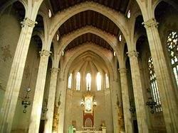 capilla de nostra senyora del roser la calla vic