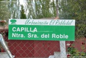 capilla de nuestra senora del roble urbanizacion el robledal villalbilla