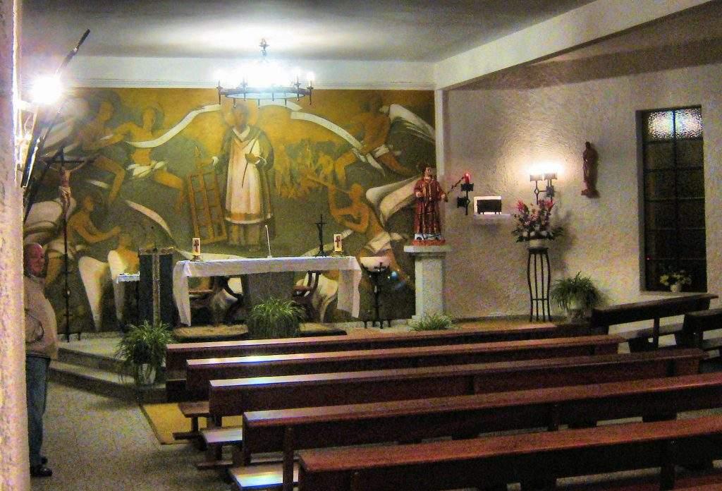 capilla de san lorenzo coto de puenteviejo maello