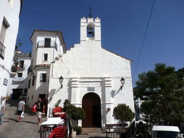 capilla de san sebastian casares