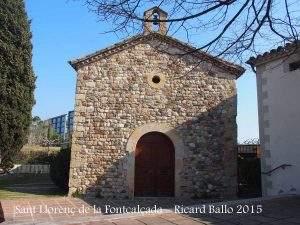 Capilla de Sant Llorenç de la Fontcalçada (Can Ametller) (Sant Cugat del Vallès)