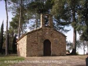 Capilla de Sant Sebastià de les Brucardes (Sant Fruitós de Bages)