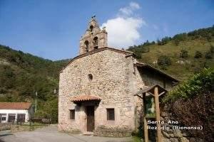 capilla de santa ana rozadio