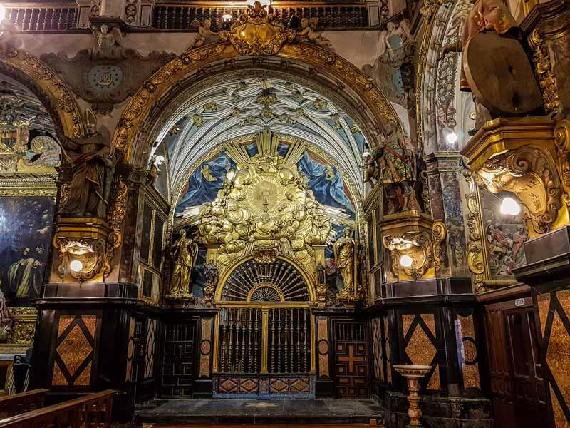 capilla del barrio de san carlos redovan