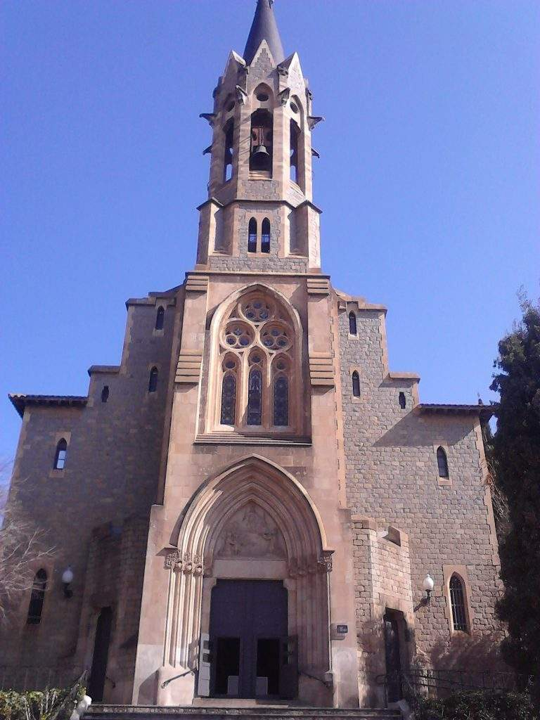 capilla del recinte torribera santa coloma de gramenet