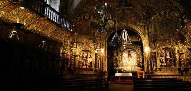 capilla del santo cristo a coruna