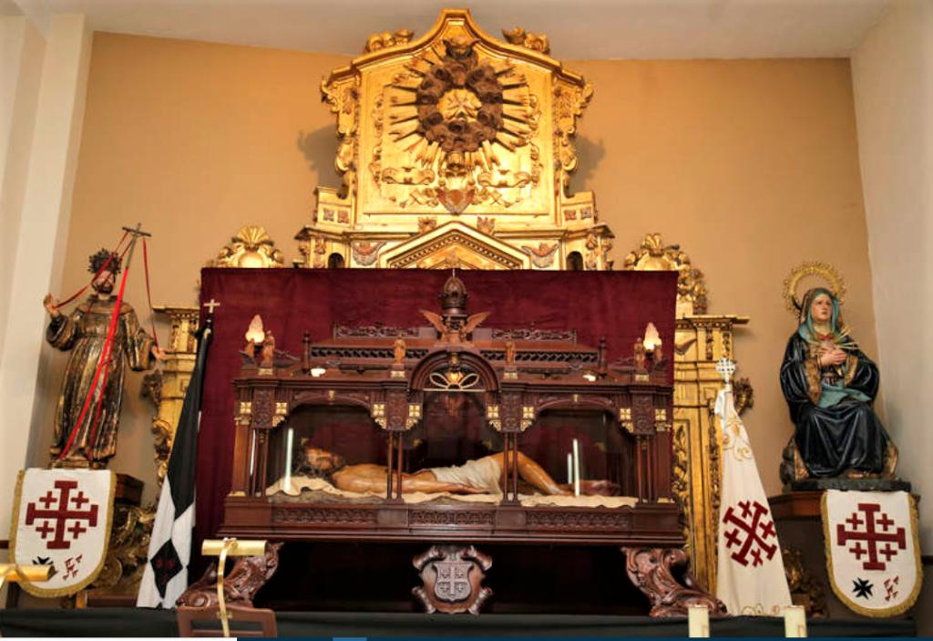 capilla del santo sepulcro palencia