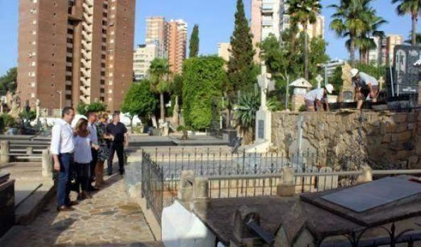 cementerio de la virgen del sufragio cementerio viejo benidorm