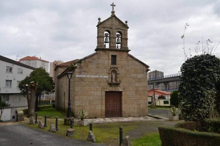 centro parroquial de san cristobal das vinas a coruna
