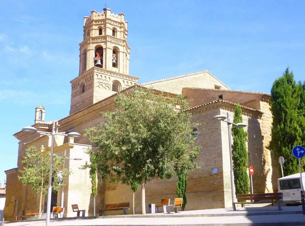 concatedral de santa maria del romeral monzon