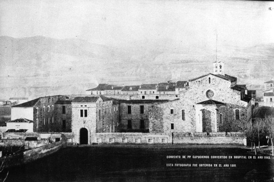convento de padres capuchinos igualada