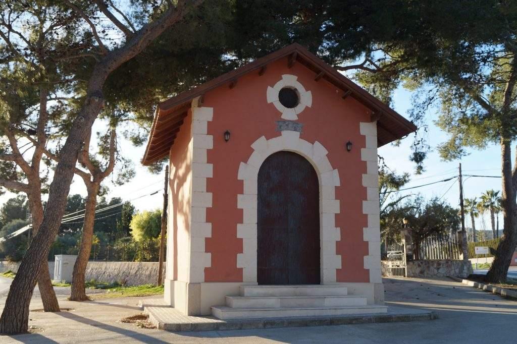 ermita de cruz cubierta orihuela