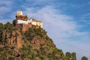 ermita de la mare de deu de la roca mont roig del camp