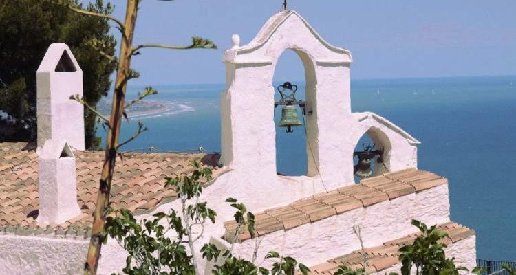 ermita de la santissima trinitat sitges