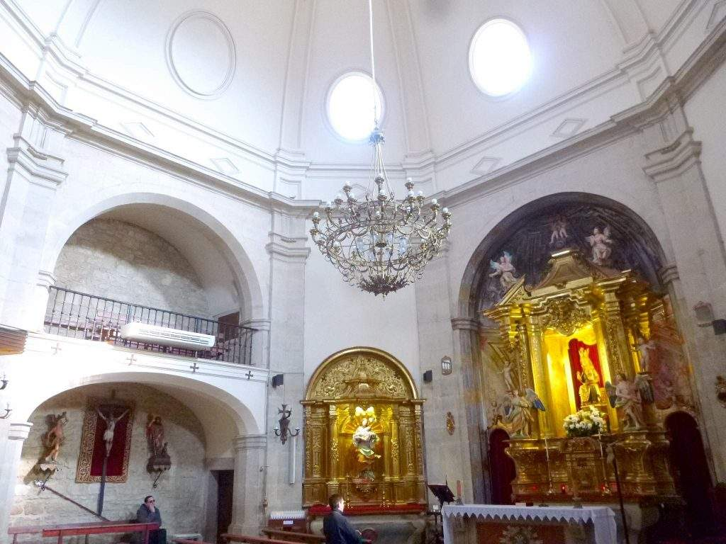 ermita de la virgen de la plaza elciego