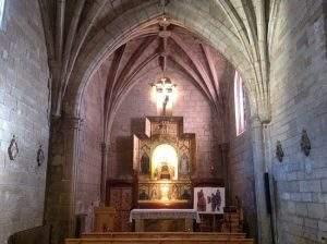 ermita de la virgen de la plaza santo domingo de la calzada