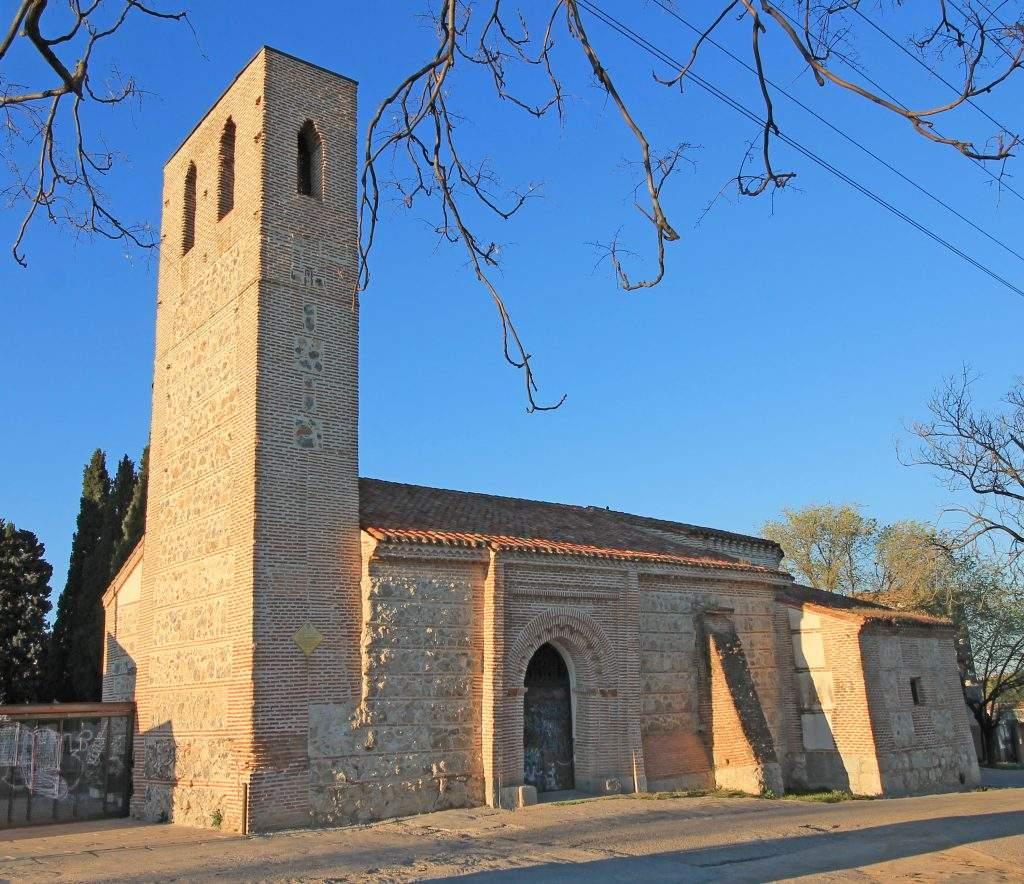 ermita de nuestra senora de la antigua cementerio de carabanchel bajo o de san sebastian madrid