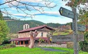 ermita de san isidro zeanuri