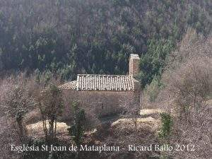 Ermita de Sant Joan de Mataplana (Gombrèn)
