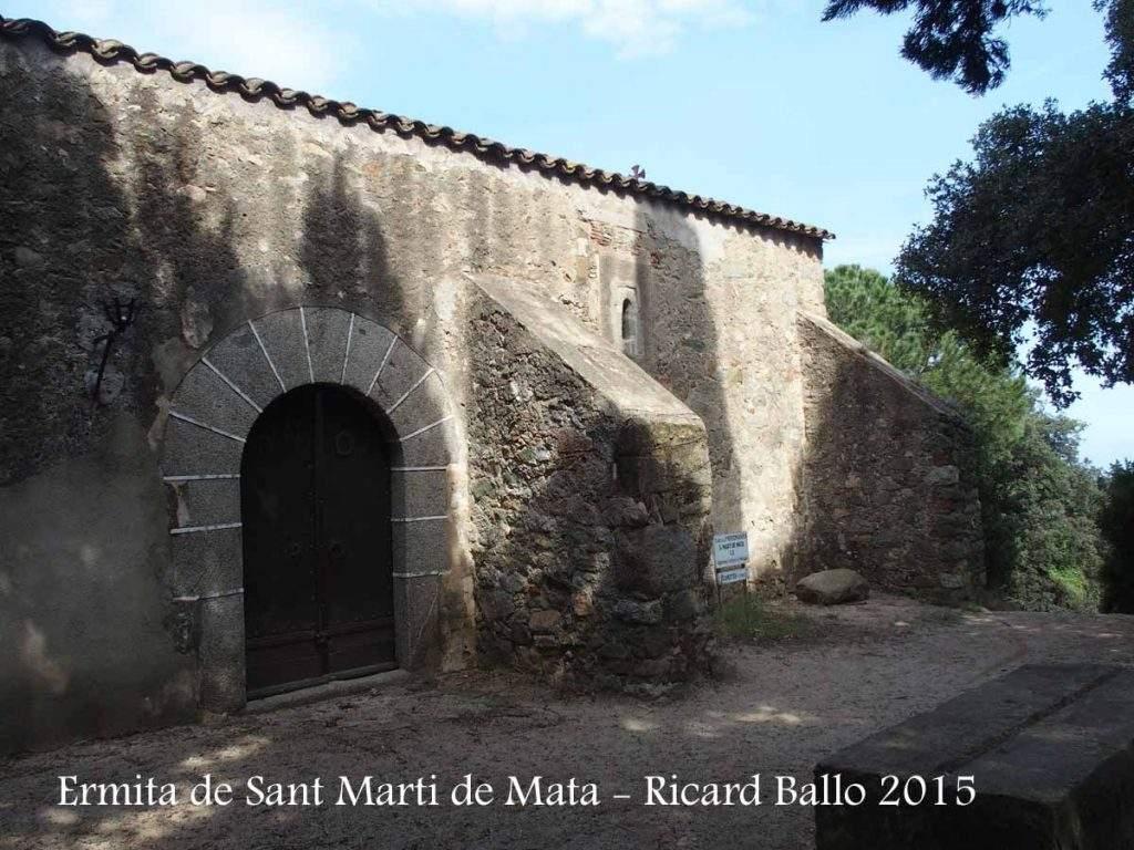 ermita de sant marti de mata mataro