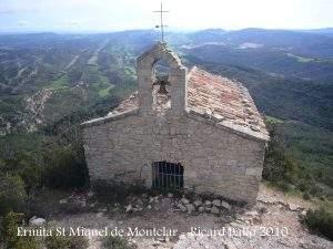 ermita de sant miquel de montclar pontils