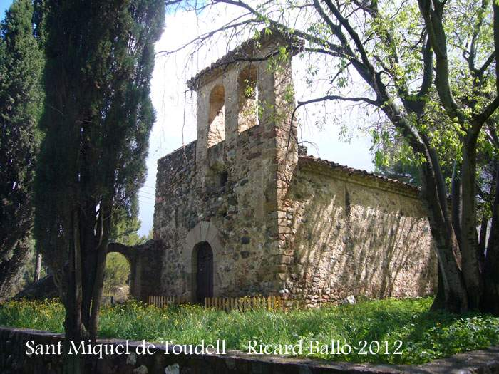 ermita de sant miquel de toudell viladecavalls
