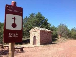ermita de sant roc prades