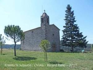 ermita de sant sebastia orista