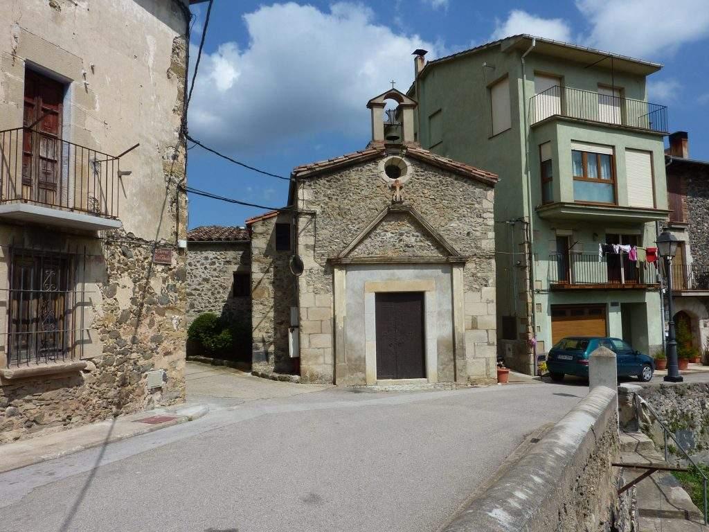 ermita de sant sebastia sant feliu de pallerols