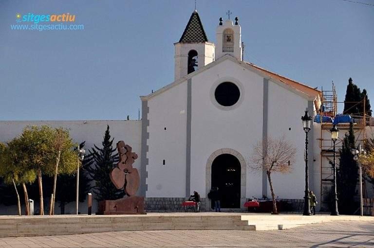 ermita de sant sebastia sitges