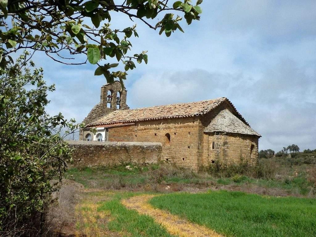 ermita de sant silvestre de serralta oliola