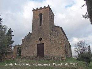 Ermita de Santa María de Campanyà (Sant Cugat del Vallès)
