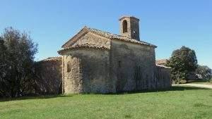 Ermita de Santa María de la Creu d'en Blau (Les Planes) (Sant Cugat del Vallès)
